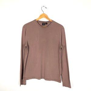 Boss Hugo Boss Slim Fit Silk LongSleeved Shirt-  L